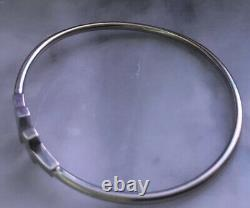 $1930 Retailed 18K WG Tiffany & Co. T Wire Bracelet/box/pouch Included