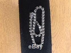 2.00ct 18k Diamond Tennis Bracelet White Gold