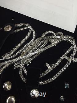 3.00 Ctw Round Cut Natural Diamond 14k White Gold Diamond Tennis Bracelet