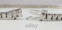 4.00 Carat Diamond Tennis Bracelet 14K White Gold E SI2 steal deal