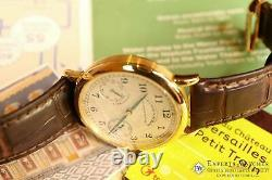 A Lange & Sohne 1815 Up & Down 221.021 36MM Power Reserve 18K Yellow Gold Extras