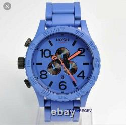 A New Nixon Watch Blue A083-blue Mens 51-30 Chrono Dial Genuine