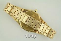 Audemars Piguet Royal Oak 25594BA Day-Date Moonphase 18K Automatic White Dial