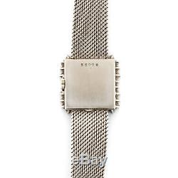 Audemars Piguet White Gold Diamond Emerald Bracelet Watch