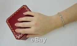 Authentic Cartier Love Bracelet SM 18k White Gold Size 19 with CoA RRP$6,500