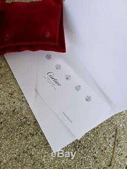 Authentic Cartier Love Bracelet SM small model 18k white gold full set