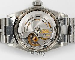 Authentic Rolex Steel Lady Datejust 6517 with White Gold Bezel & Jubilee Bracelet
