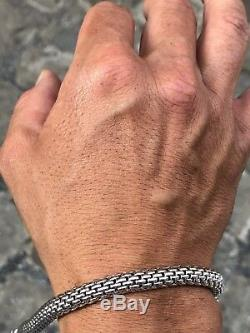 Bracciale bracelet braccialino oro gold Fope originale original white bianco