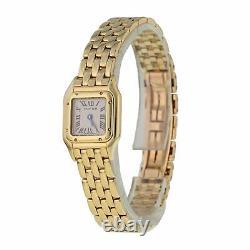 Cartier Panthere Mini 11301 18K Yellow Gold Ladies Watch