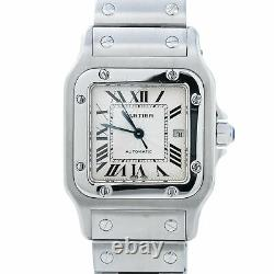 Cartier Santos Galbee 2319 Stainless Steel Automatic Men's Watch 29mm
