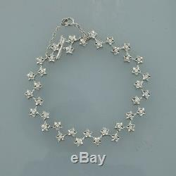Chanel Diamond Star Bracelet 18ct White Gold