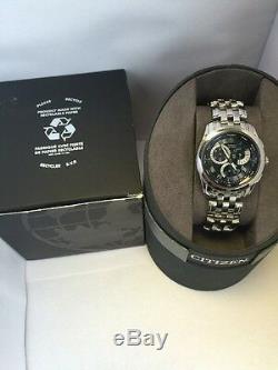 Citizen Men's Eco-Drive Calibre 8700 Perpetual Calendar, Alarm Bracelet Watch