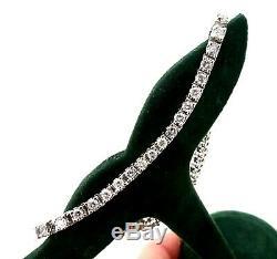 Estate Jafa 14k White Gold Diamond Tennis Bracelet 2.5 Ct Tcw