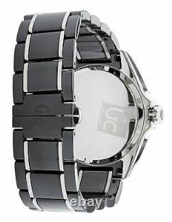 Guess Collection GC Mens Black Ceramic Band Sport Class XL Swiss Made 44mm Watch