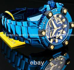 Invicta COALITION FORCES GRAND OCTANE Swiss Chronograp BLUE LABEL Dial Men Watch