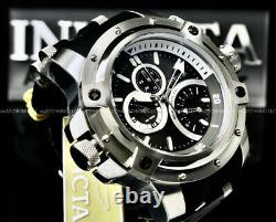 Invicta Men 52MM COALITION FORCES Multi Function RETROGRADE DAY Black Dial Watch