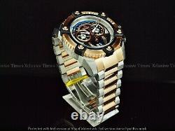 Invicta Men 63mm JoKER Grand Arsenal Swiss Chrono Rose Gold TT SS Watch