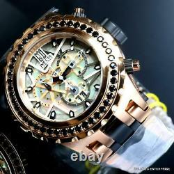 Invicta Reserve JT Subaqua Specialty 5CTW Black Spinel Rose Gold 52mm Watch New
