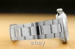 Mens Rolex Datejust 18k White Gold Diamond Bezel & Stainless Steel Watch