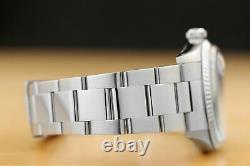 Mens Rolex Datejust 18k White Gold & Stainless Steel Diamond Watch 16014