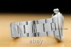 Mens Rolex Datejust Quickset 18k White Gold & Stainless Steel Blue Dial Watch