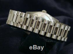Mens Rolex Day Date President Solid 18k White Gold Watch Slate New Style 118239