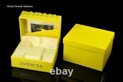 NEW Invicta Men's 52mm Bolt Automatic Open Heart Silver Gold Tone Bracelet Watch