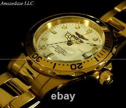 NEW Invicta Men's Stainless Steel WHITE DIAL Prodiver 200M Watch