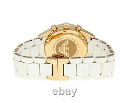 New Emporio Armani Ar5920 White Ladies Watch 2 Years Warranty Certificate