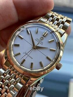 Omega Seamaster Caliber 552 Vintage Gold Mens Automatic 1961 serviced watch