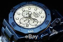 PROTOTYPE Invicta 58mm AKULA Blue Label High Polish White Dial Bracelet Watch