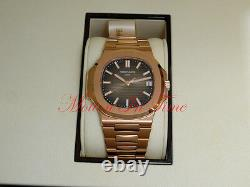 Patek Philippe Nautilus 5711/1R-001 Rose Gold on Bracelet 40mm Complete Set