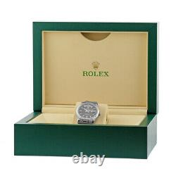 ROLEX 18K 36mm White Gold Day Date President 118239 Warranty Box MINTY