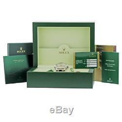ROLEX 18K White Gold 42mm Sky Dweller 326939 Warranty Card Box Sky-Dweller MINTY