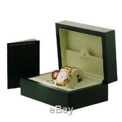 ROLEX 18K Yellow Gold 40mm Daytona Cosmograph 116528 White Dial Warranty MINTY
