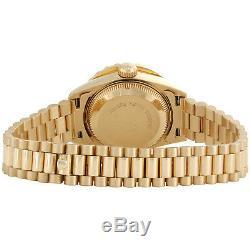 Rolex 18K Gold President 26mm DateJust 69178 VS Diamond Champagne Watch 2.08 CT