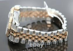 Rolex Datejust 116261 Turn-O-Graph Black Dial SS/18K Rose Gold Jubilee Watch