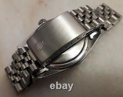 Rolex Datejust 16014 1979/80 Caliber 3035 Steel & white gold fluted bezel