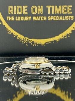 Rolex Datejust 16233 Roman Pyramid Dial Box & Papers Mint