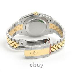Rolex Datejust 41mm 126333 Steel Yellow Gold Jubilee Champagne Index Dial Watch