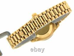 Rolex Datejust Lady President 18K Yellow Gold Watch White MOP Dial Diamond Bezel