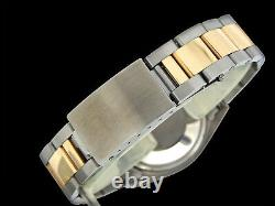 Rolex Datejust Mens Two-Tone Stainless Steel & Yellow Gold Champagne 16013