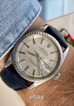 Rolex Datejust Oyster Perpetual 1570 Steel vintage Men 1970 Nato vintage watch