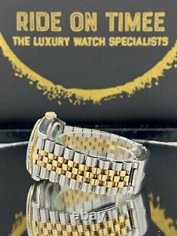 Rolex Datejust in Stainless Steel & 18ct Gold with Green Arabic Dial