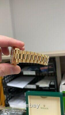 Rolex Day-Date 18238 18K Yellow Gold Automatic Men's Watch