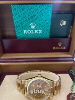 Rolex Day-Date 18K Yellow Gold- Box & Papers 1991