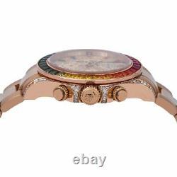 Rolex Daytona 116505 40MM Rose Gold Diamond Dial With Rose Gold Oyster Bracelet