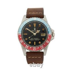 Rolex Gmt-master Pepsi Gilt Dial Stainless Steel Watch 1675 40mm Com1640