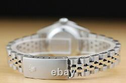 Rolex Ladies Datejust Pink Dial Diamond Bezel & Lugs 18k Gold & Steel Watch