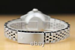Rolex Ladies Datejust White Diamond 18k White Gold Stainless Steel Watch